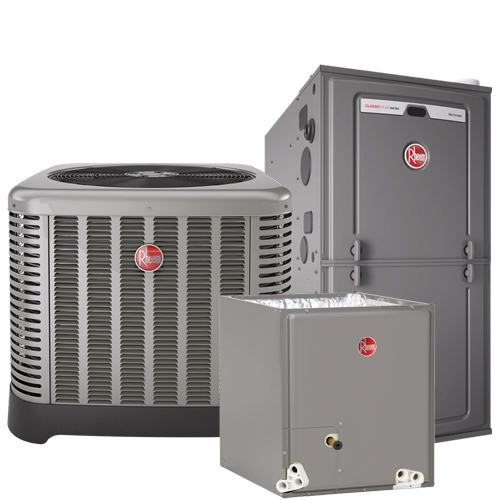 Rheem 14, 16, 18 and 20 SEER Heating and Cooling Systems