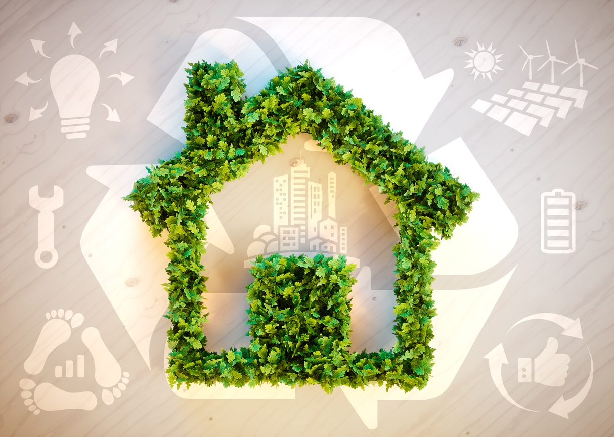 Sustainable living combined with high efficient HVAC equipment is the solution!
