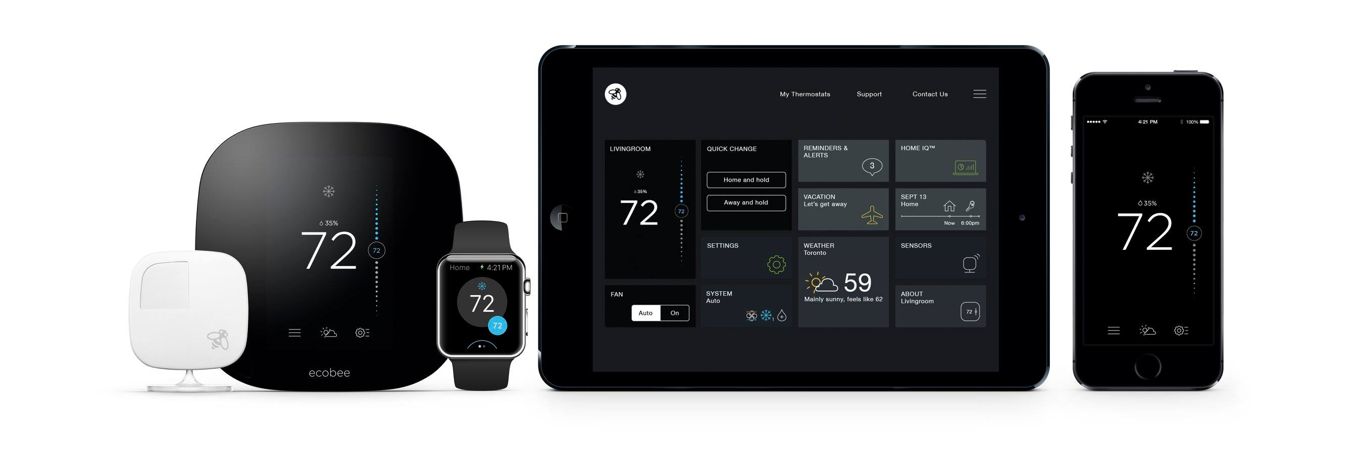 Save on energy costs in El Paso with Ecobee4 Smart Thermostat