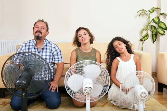 Don't sweat it, convert to refrigerated air El Paso homeowners!